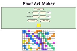 Pixel Art Maker Udacity | KoolGadgetz